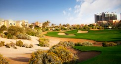 The Els Club Dubai Gallery 2nd Hole