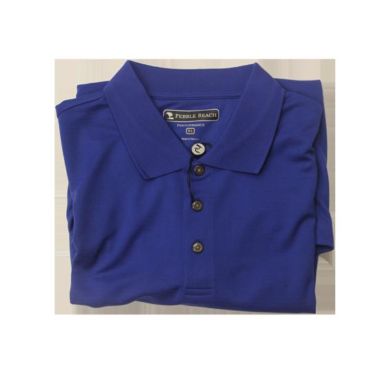 Pebble Beach Short Sleeved Golf Shirt